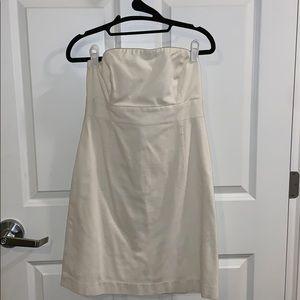 VINEYARD VINES strapless white dress